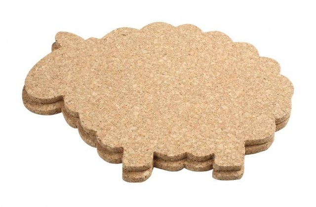 Cork Sheep Pot Stand