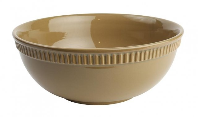 Colour by Numbers Large Bowl Olive