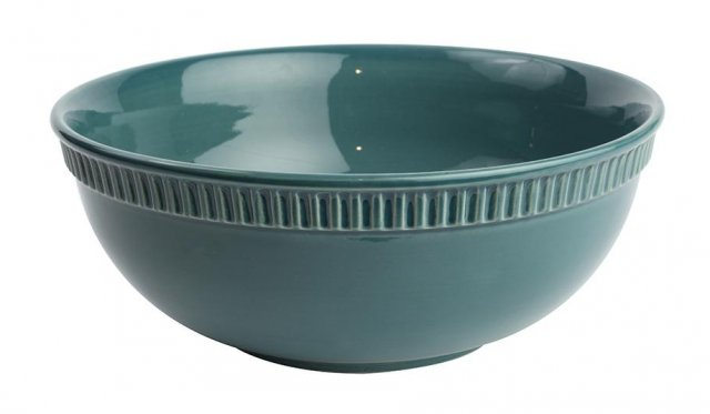 Colour By Numbers Large Bowl Teal