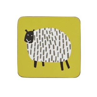 Coaster 4PK Dotty Sheep