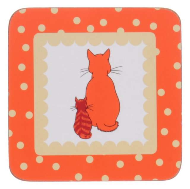 Coaster 4pk Cats in Waiting