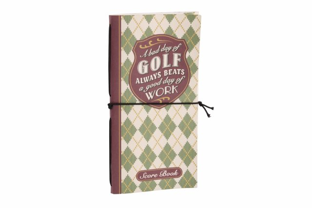 A Bad Day Of Golf Score Book