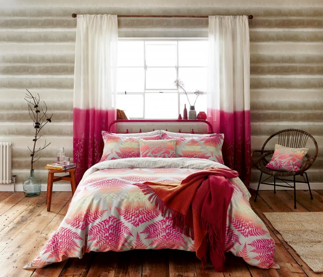 Clarissa Hulse Filix Bedding Coral