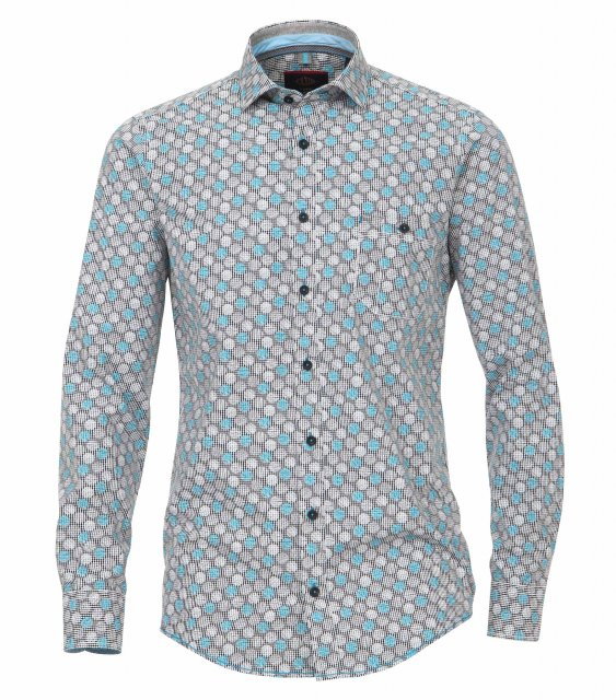 Casamoda Leisure Print Shirt