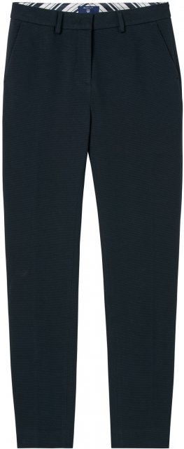 Gant O1. Pique Stretch Pants Navy