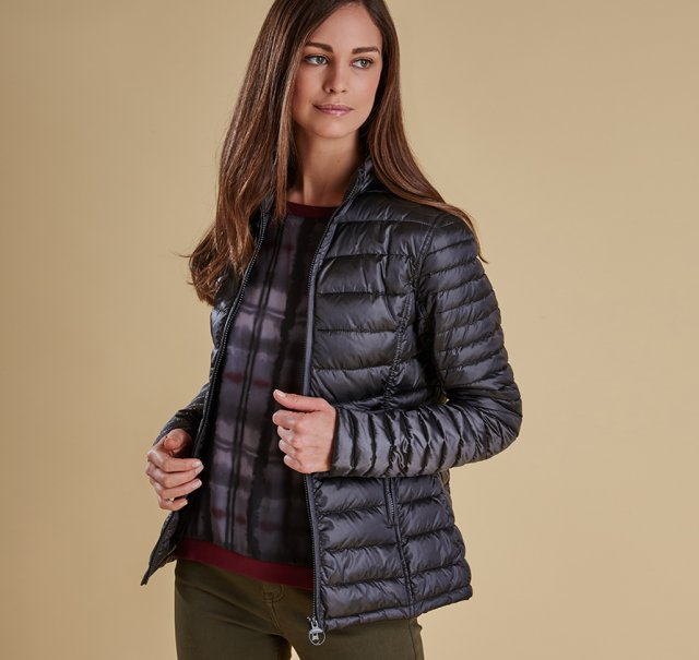 Barbour Clyde Short Waffle Quilt