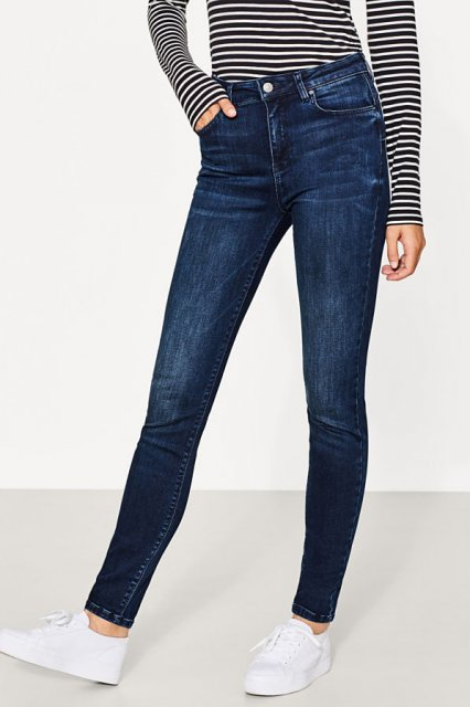 Esprit Shaping Pants Blue  Dark Wash