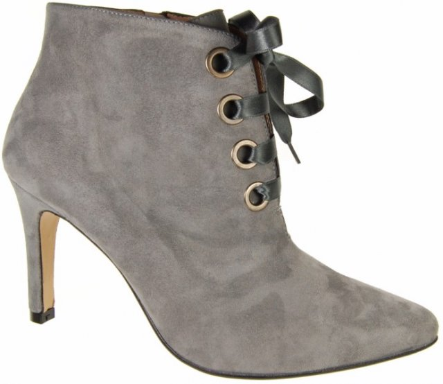 Capollini Jaclyn Suede Lace Up Ankle Boot