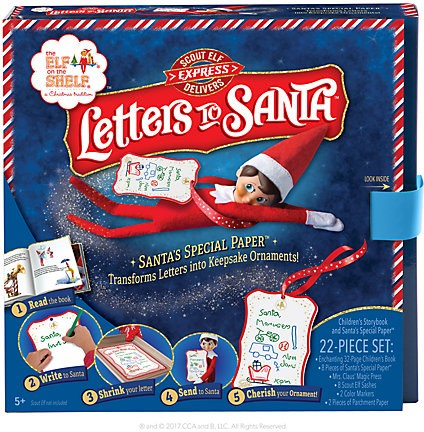 Elf On The Shelf Elf Delivers Letters To Santa Kit