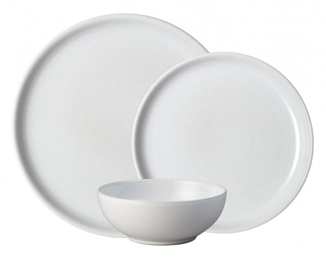 Denby Intro Stone White 12pc Tableware Set
