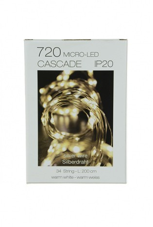 720 Micro T.LED Cascade 34 Warm White
