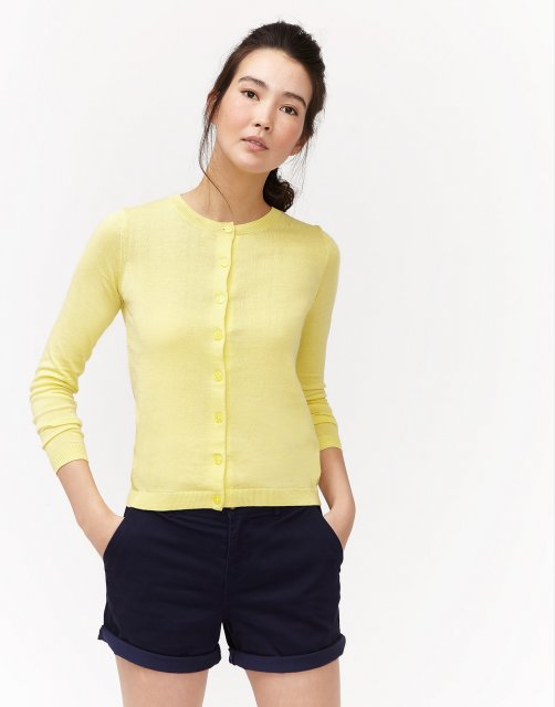 Joules Skye Button Front Cardigan - Cardigans - Barbours 87f8a45a5