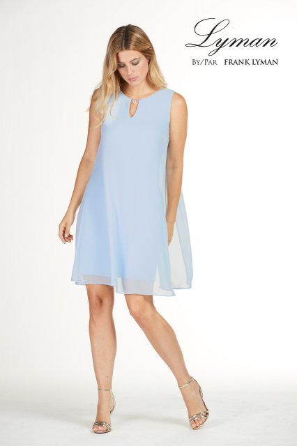 Frank Lyman Dress Baby Blue