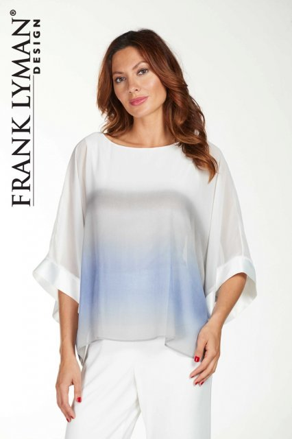 Frank Lyman Top White Grey