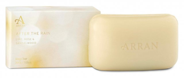 Arran After The Rain Soap Lime,Rose & Sandalwood 200g