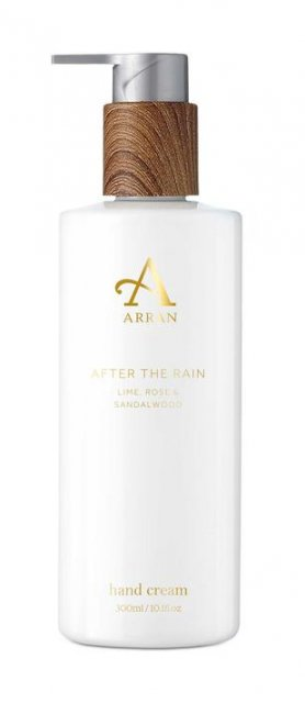 Arran After The Rain Hand Cream Lime,Rose & Sandalwood 300ml