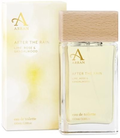 Arran After The Rain EDT Lime,Rose & Sandalwood 100ml