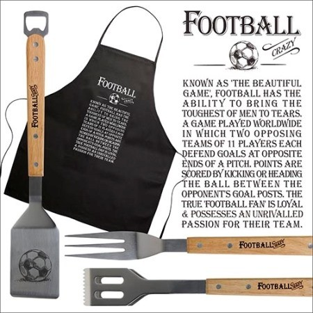 Barbecue Set Football Crazy