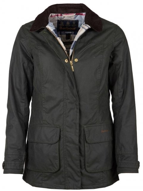 Barbour Balintore Wax Jacket Sage