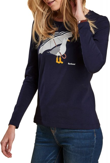 Barbour Sidmouth Tee Navy