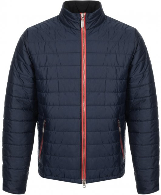 Barbour Locking Quilt Jacket Navy