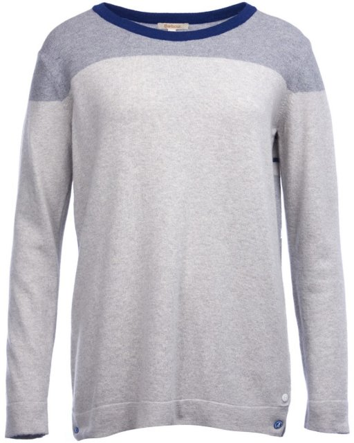 Barbour Standsend Knit Light Grey