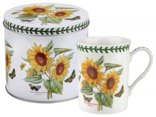 Botanic Garden Mug & Tin Set Sunflower