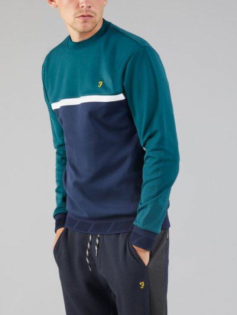 Farah Sport Kendrew Crew Sweat Yale