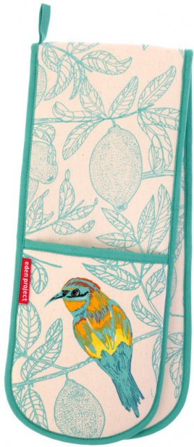 Eden Project Bee Eater Double Oven Gloves