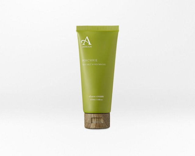 Arran Machrie Sea Salt & Rockrose Shave Cream 100ml