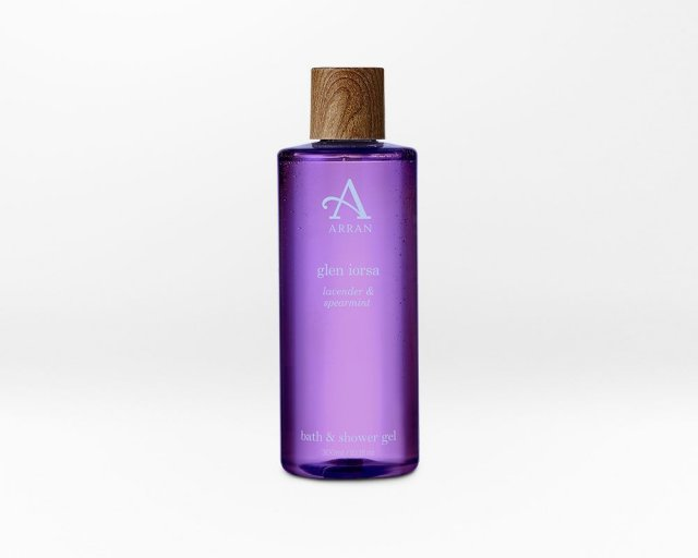 Arran Lorsa Bath & Shower Gel Lavender & Spearmint 300ml