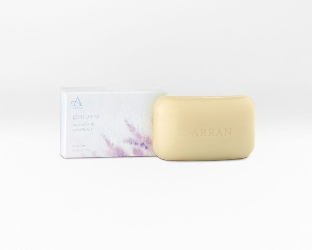 Arran Lorsa Soap Lavender & Spearmint 200g