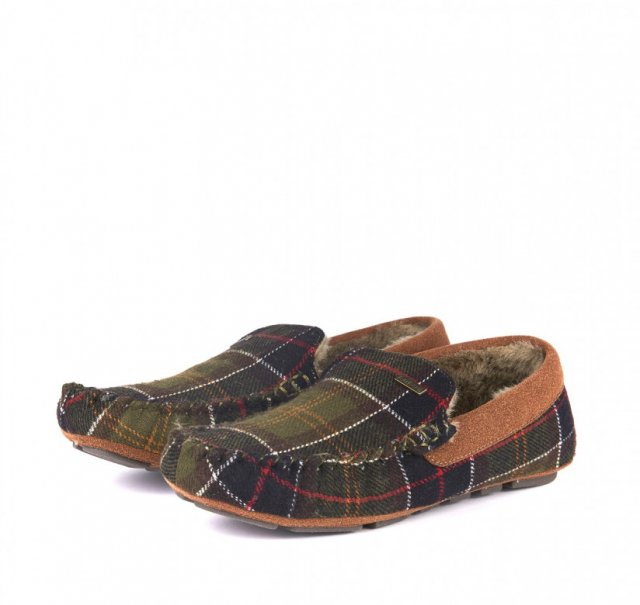 Barbour Monty Thinsulate Slipper Classic Tartan