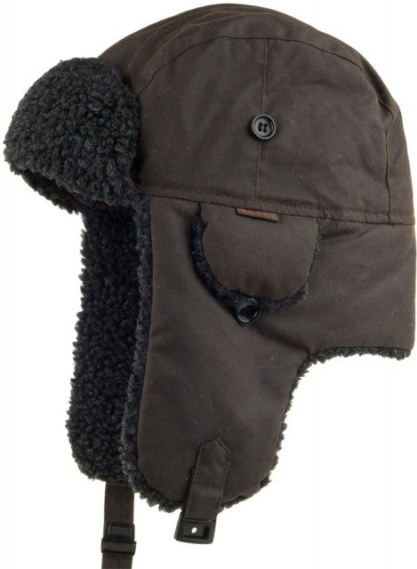 66ac61a5d98b7 Product Description. A seasonal favourite, the Fleece Lined Trapper Hat ...