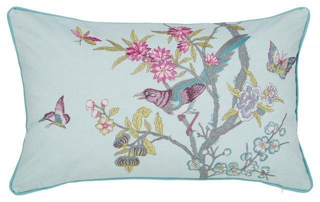 Bedeck V A Chinese Bluebird Aqua, Laura Ashley Bluebirds Bedding