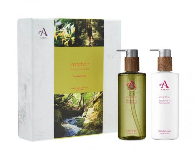 Arran Imacher Hand Care Duo Bergamot & Honeysuckle