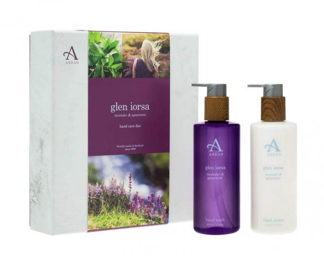 Arran Glen Iorsa Hand Care Duo Lavender & Spearmint