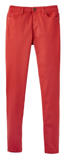 Joules Monroe Red Skinny Stretch Jeans