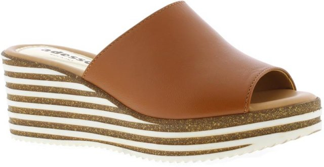 Adesso Hanna Tan Wedged Sandal